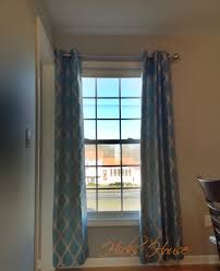 Curtains For A Picture Window How To Hang Curtains In Corners Hicks House