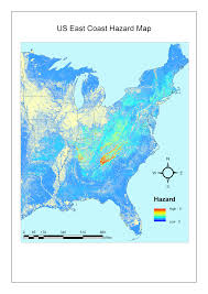 Usa Map East Coast by Maps Sudden Oak Death