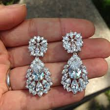 vintage wedding earrings chandeliers sale chandelier earrings bridal jewelry vintage wedding wedding