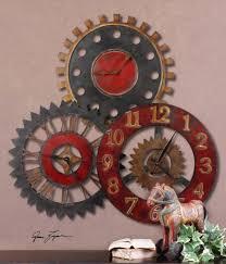 Unusual Wall Clocks by Southern Enterprises Los Cabos Wall Clock Multi Colored Walmart Com