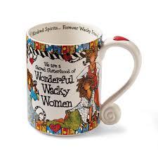 wonderful wacky women coffee mug suzy toronto design walmart com