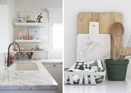 accessoires deco cuisine 25 idées pour du marbre dans la déco la deco le crotoy et le marbre