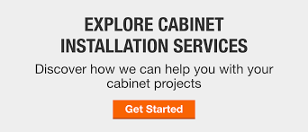 kitchen cabinet installation cost home depot cost to install kitchen cabinets the home depot bathroom