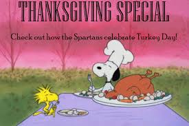 thanksgiving special the spartan oracle