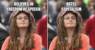 Liberal College Girl Meme - liberal college girl
