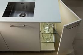 kitchen base cabinet free standing angled corner unit leicht