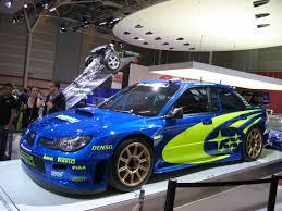 subaru wrx custom blue file subaru wrx sti rally car at the 2006 paris auto show 3 jpg