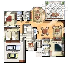 floor plan of a house 3 bedroom 3 bath house plans bedroom at real estate