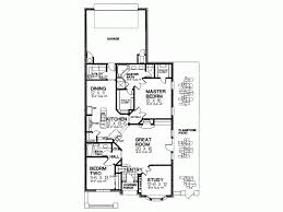 floor plans for narrow lots eplans country house plan narrow lot plan with tremendous