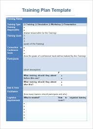training plan template e commercewordpress