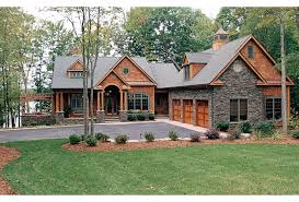 craftsman house plans one story astounding inspiration stone craftsman house plans 4 one story