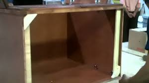 assemble kitchen cabinets how to assemble kitchen cabinet kings u0027 base cabinets youtube