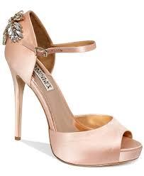 wedding shoes macys badgley mischka shoes high heel evening pumps evening