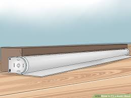 How To Put Blinds Down How To Fit A Roller Blind 9 Steps With Pictures Wikihow