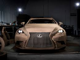 lexus polska youtube lexus made an incredibly intricate cardboard car that can drive