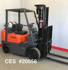 toyota main ces 20556 toyota 5 000 lbs propane forklift coronado equipment