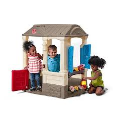 Step 2 Storybook Cottage Used by Get Outdoors With The Best Step2 Toys For Spring 2017 Raising