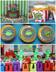 kara u0027s party ideas ninja turtle birthday party ideas decor