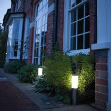 Best Solar Garden Lights Review Uk by London Xt Solar Post Lights Set Of 2