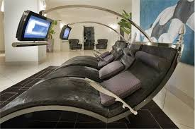Office Chaise Lounge Chair Furniture Dark Black High Tech Chaise Lounge Chairs Woth Grey