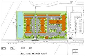 site plan the legends at north ponds u2013 webster new york