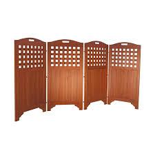 Room Dividers And Privacy Screens - amazon com vifah v163 acacia hardwood privacy screen outdoor