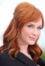 christina hendricks named as the face of nice n easy hair color