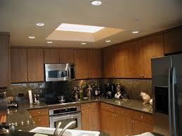 kitchen design ideas simple recessed led kitchen lighting style