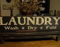 Primitive Laundry Room Decor Primitive Laundry Etsy