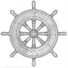 marine handwheel design zentangle coloring art u0026 culture