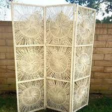 Outdoor Room Dividers Outdoor Room Dividers Outdoor Wicker Privacy Screen Partition