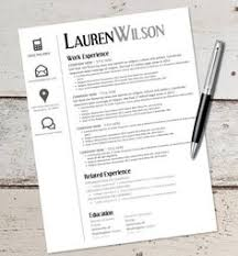 Template For Resume In Word Instant Download Resume Design Template Microsoft Word