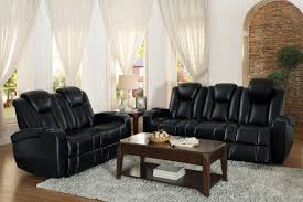 homelegance madoc power reclining sofa set leather gel match