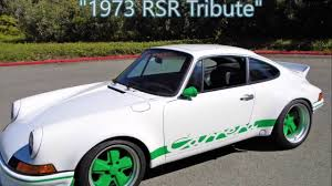 1973 porsche rs for sale 1986 porsche 1973 rsr tribute for sale