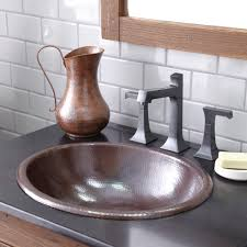 Copper Faucet Kitchen Bathroom Copper Bathroom Sinks With Perfect Design For Your Home