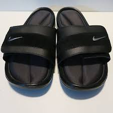 Nike Comfort Slide Nike Men U0027s Comfort Slide Flip Flops Black Anthracite 360884 001 Uk