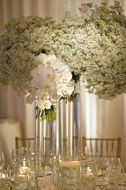 tablescape floral centerpiece baby s breath table