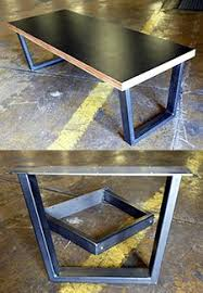 Making Wooden End Table by Best 25 Diy Metal Table Legs Ideas On Pinterest Metal Table