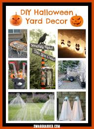 diy halloween yard decor ideas swaggrabber