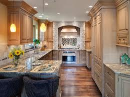 galley kitchen design with island kitchen layout templates 6 different designs hgtv