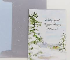 christmas cards in watercolor watercolor christmas cardsmomental designs