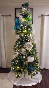 disney pixar themed christmas tree up balloon house tree topper