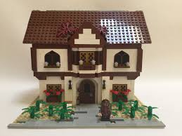 lego ideas tudor house and garden
