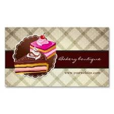 Business Card Template Jpg Custom Cakes And Cookies Dessert Bakery Store Business Card