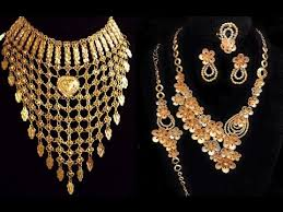 arabian earrings gold necklace designs arabic gold jewellery designs