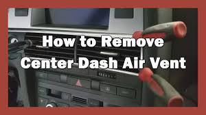 2015 2016 2017 subaru wrx sti genuine jdm oem s4 satin mirror how to remove center dash air vent 2007 audi s6 c6 diy