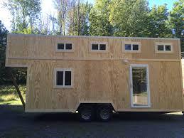Tiny House On Gooseneck Trailer by Tiny House Talk