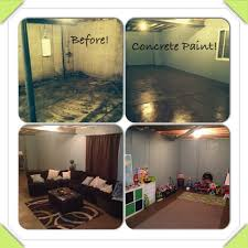 painting an unfinished basement so easy a pregnant woman can do