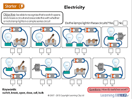 Science Worksheet Circuits Switches 2 A Year 4 Science Worksheet