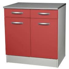 element bas de cuisine avec plan de travail meuble bas de cuisine avec porte et tiroir 80cm of